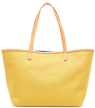 Mansur Gavriel Large Canvas Tote Bag - Womens - Yellow