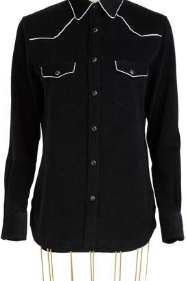 Officine Generale Felice cotton shirt