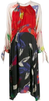 Lala Berlin Kufiya panelled dress
