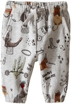 Stella McCartney Loopie Animal Print Fleece Pants Boy's Casual Pants