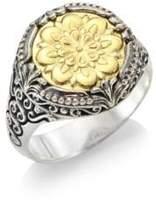 Konstantino Gaia 18K Yellow Gold Ring