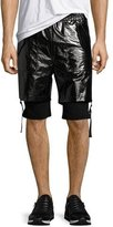 Helmut Lang Double-Layer Shorts, Black