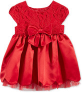Sweet Heart Rose Lace Scallop-Hem Dress, Baby Girls (0-24 months)