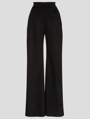 Brandon Maxwell Wool Crepe Trouser