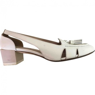 Fratelli Rossetti White Patent leather Sandals
