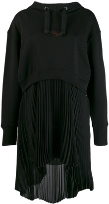 Philosophy di Lorenzo Serafini Hooded Sweat Dress