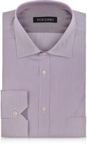 Forzieri Light Purple Striped Cotton Shirt