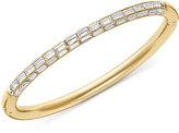 Swarovski Domino Gold PVD-Plated Crystal Bangle Bracelet