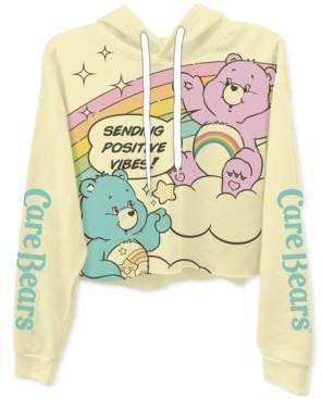 Freeze 24-7 Juniors' Care Bears Graphic Hoodie T-Shirt