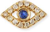 Sydney Evan Jewelry 14k Diamond Mini Evil Eye Single Stud Earring