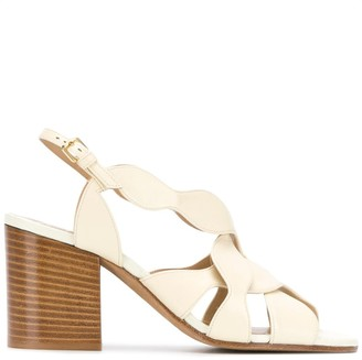 Chloé Crossover Strap Sandals