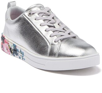 Ted Baker Roully Metallic Leather Sneaker