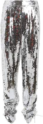 Tibi Avril Sequin-Embellished Pants
