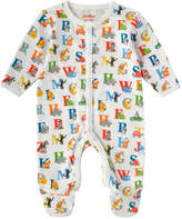 Cath Kidston Animal Alphabet Baby Sleepsuit