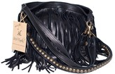 Mcfadin Handbags Large Fringe Bag in Black as Seen on Ashley Benson