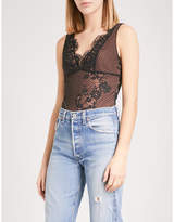 KENDALL + KYLIE KENDALL & KYLIE V-neck lace body
