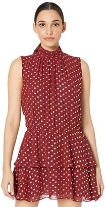 Yumi Kim Kiss Me Dress (Hot Spot Wine) Women's Dress