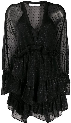 IRO Milson dotted mini dress