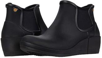 Bogs Vista Wedge Ankle (Black) Women's Boots