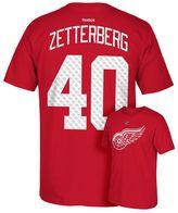 Reebok Men's Detroit Red Wings Henrik Zetterberg Premier Tee