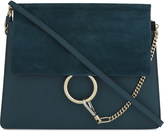Chloé Faye leather & suede cross-body bag