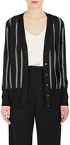 Lanvin Women's Striped V-Neck Cardigan