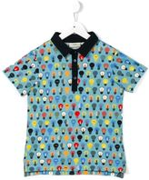 Fendi lightbulb print polo shirt