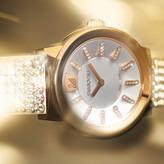 Swarovski Piazza Mesh Yellow Gold Tone Watch