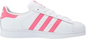 adidas Women's Superstar White/White/White 7