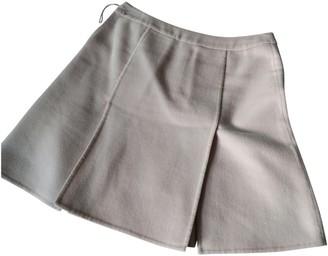 Louis Vuitton Pink Cashmere Skirt for Women