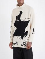 Yohji Yamamoto Turtleneck wool jumper
