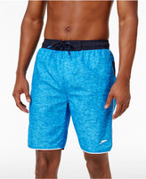 Speedo Men's Crosshatch Swim Trunks