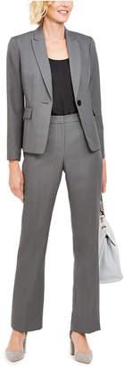 Le Suit Single-Button Pants Suit