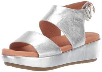 Gentle Souls Women's Lori Platform Wedge Sandal