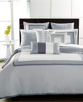 Hotel Collection Modern Frame Twin Duvet Cover Bedding