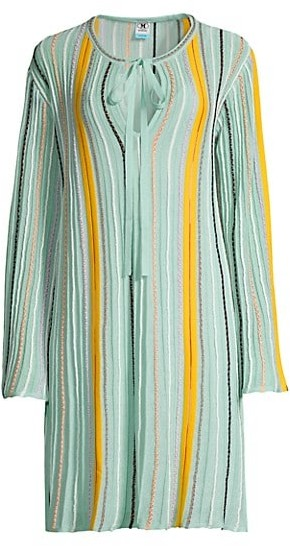 M Missoni Abito Stripe Tunic Dress