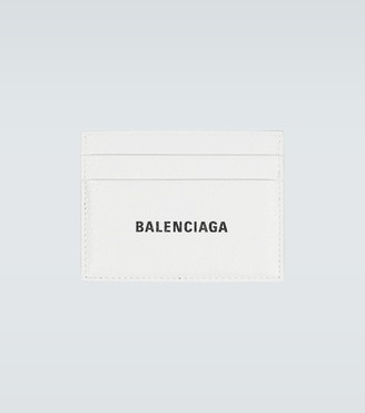 Balenciaga Cash leather cardholder