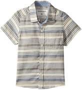 Quiksilver Aventail Short Sleeve Button Up Shirt (Toddler/Little Kids)