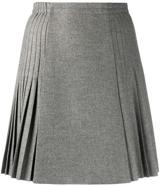 Ermanno Scervino pleated A-line mini skirt
