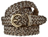 Merona Glitter Braid Belt - Gold