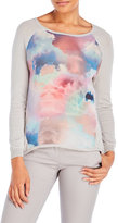 Yumi Cloud Print Sweater