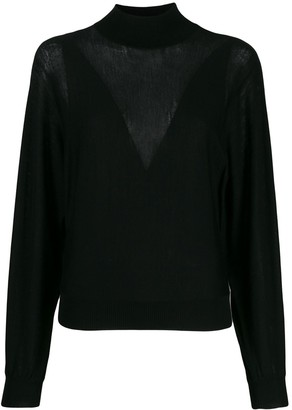 Alberta Ferretti Cable Knit Jumper