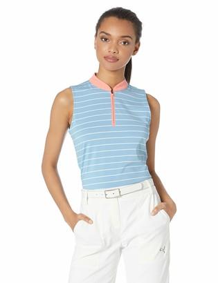 Skechers Golf Women's Backswing Zip Front Sleeveless Golf Polo