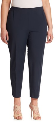 Lafayette 148 New York, Plus Size Bi-Stretch High-Waist Pants