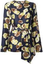 Martin Grant floral print blouse - women - Silk - 38