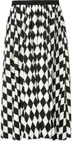 Tome diamond print full skirt