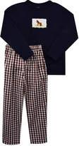 Brown Horse Tee & Gingham Pants - Infant, Toddler & Boys