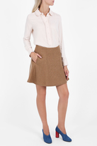 Paul & Joe Sister Double Face Wool Skirt