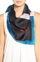Givenchy Geometric Print Silk Scarf