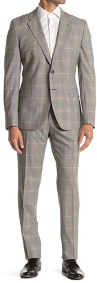 Reiss Grand Prince of Wales Peak Lapel 2-Piece Suit Set